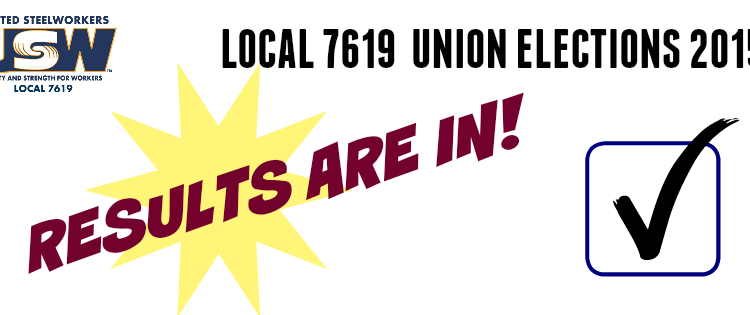 Union Elections Results 2015