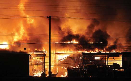 Sawmill tragedy