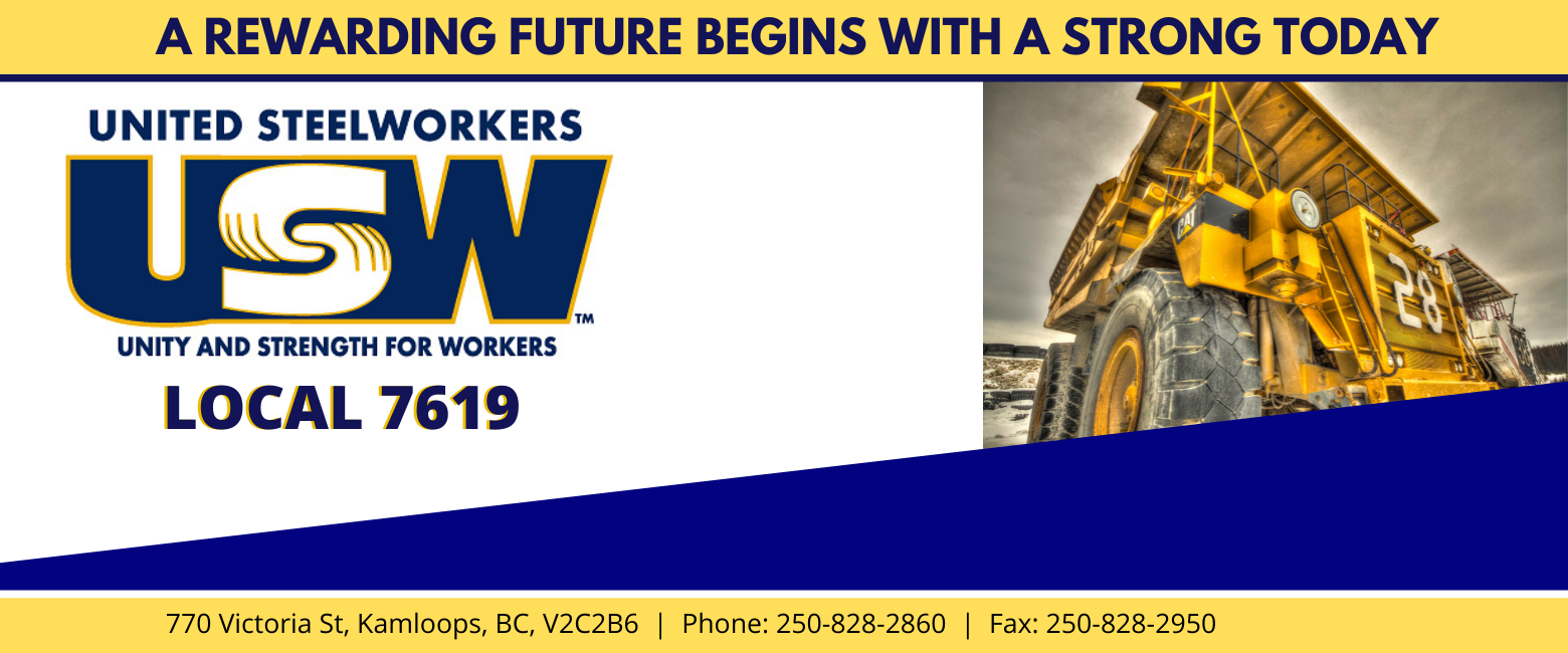 USW Local 7619 | Teck Highland Valley Copper Mine